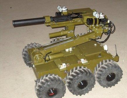 Боевой робот для МВД
