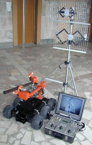 робот-вездеход с комплектом оборудования
